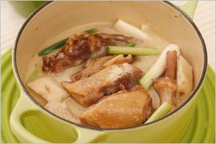 Taros Salty Duck Leg Stew