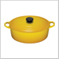 Oval French Oven Dijon