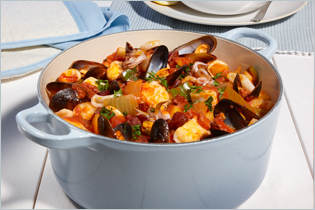 Cataplana Portuguese Fish Stew