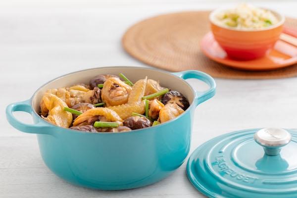 Braised Chicken with Shiitake Mushrooms