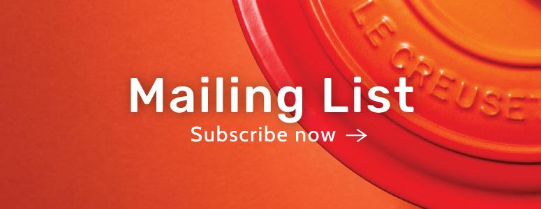 Mailing List Subscription