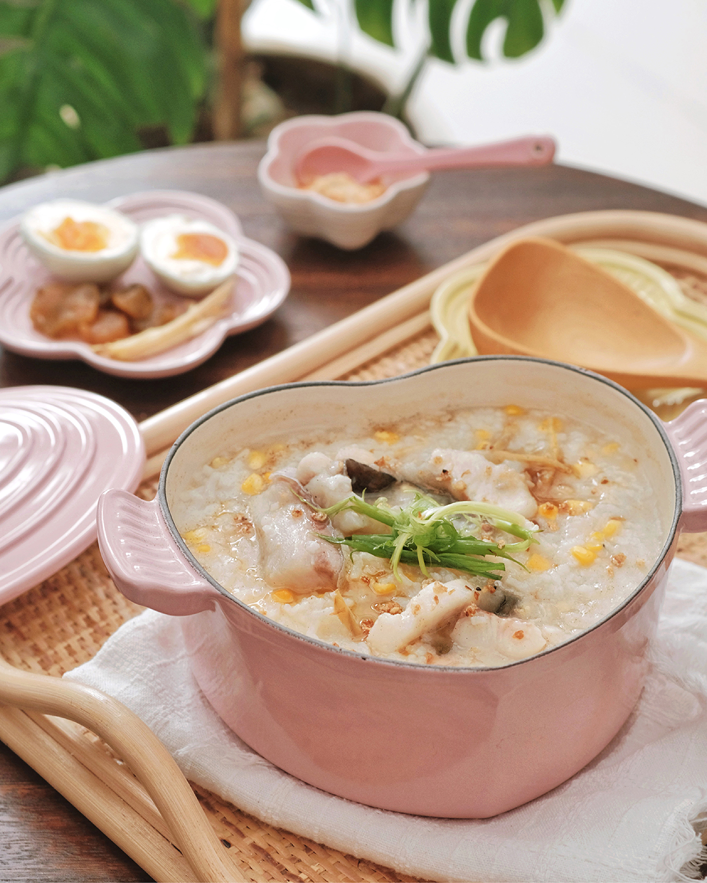 Fish and Corn Porridge
