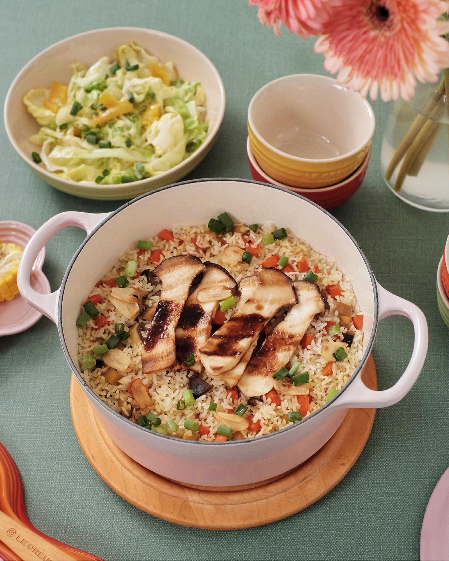 Mushroom Stewed Rice